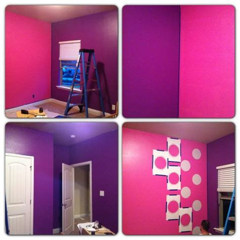 minnie mouse bedroom painting ideas my daughter asked for a purple minnie mouse room and daisy
