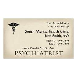 mental health business cards psychiatrist mental health business card zazzle