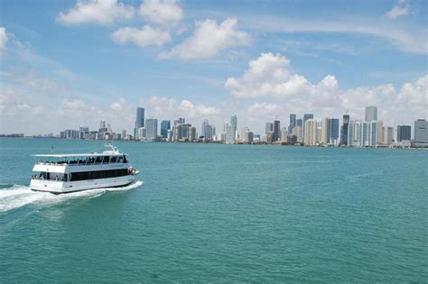 yacht boat ride miami miami double decker boat and everglades tour miami beach