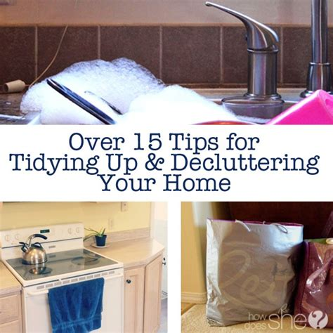 declutter your the of tidying up organizing your home decluttering your mind and minimalist living less is more books 15 tips for tidying up decluttering your home