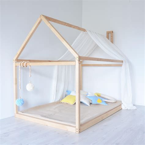 Montessori Bed Frame Size House Bed Floor Montessori Bed Frame Baby Bed