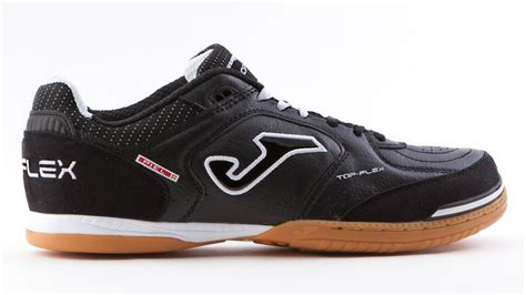 joma sport shoes top flex 301 black white sala joma