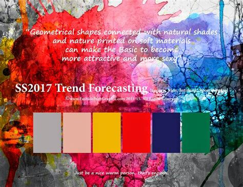 color forecast 2017 women fashion trends 2017 ss 2017 trend forecasting women