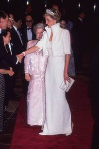 fashion on rock princess diana dress exhibit