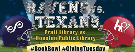 it s not serious books book bowl 2017 pratt library vs houston library