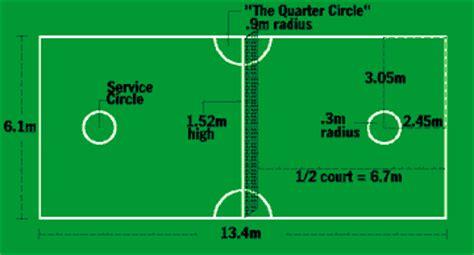 Sepak Takraw Court Diagram