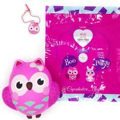 Squishy Owl Pink Uk Besar kawaii squishies kapibarasan jumbo slipper pink