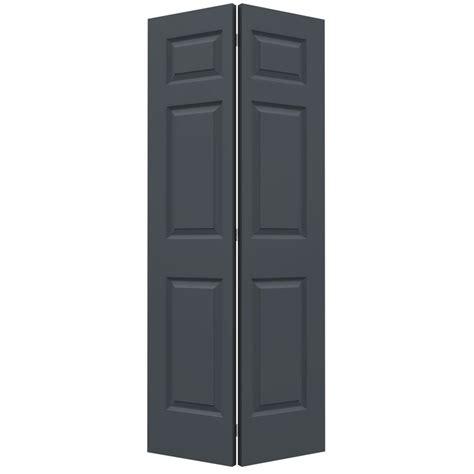 Reliabilt Bifold Closet Doors by Shop Reliabilt No Frame 6 Panel Hollow Smooth Molded Composite Bifold Closet Door Common