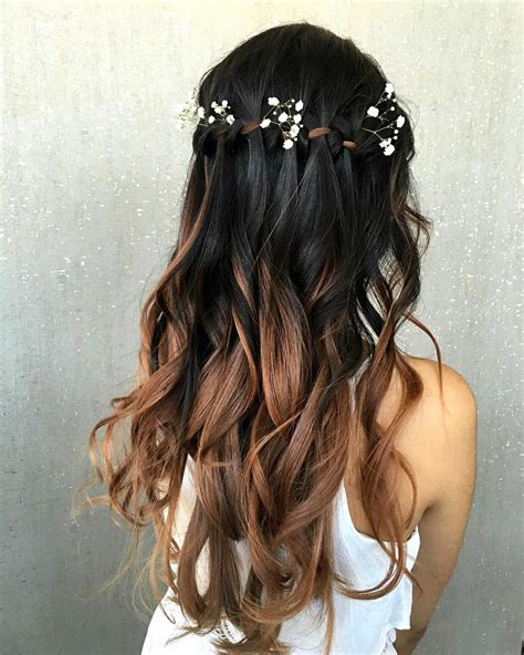Wedding Hair Waterfall Braid by 20 Insanely Waterfall Hairstyles To Try Hairstyle
