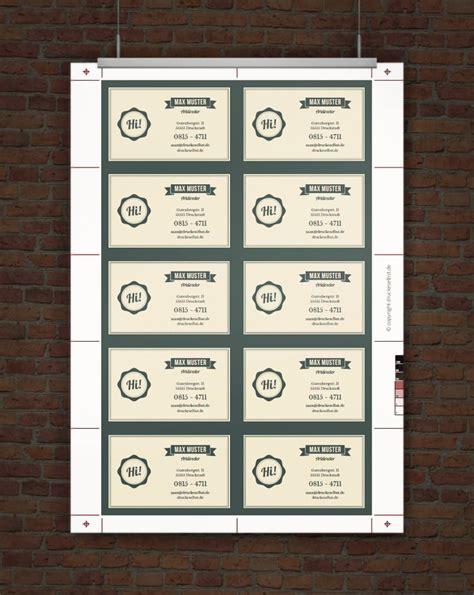 Visitenkarten Selber Gestalten by Drucke Selbst Vistenkarten Selbst Drucken