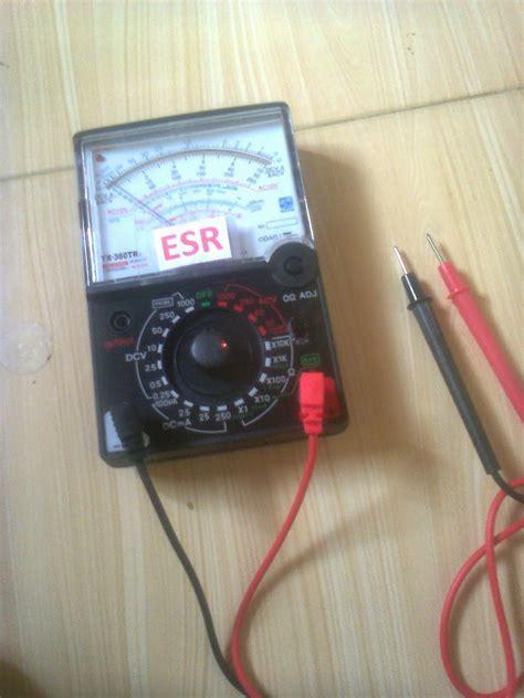 Multimeter Analog Kecil jual harga murah esr meter analog dan digital 140 ribu