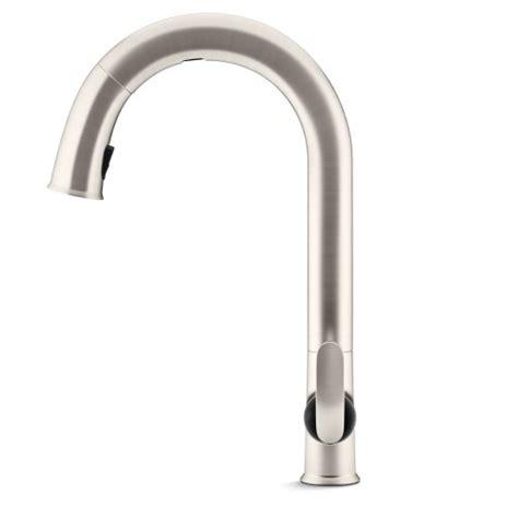 kohler sensate kitchen faucet kohler k 72218 vs sensate touchless kitchen faucet vibrant stainless hardware plumbing plumbing