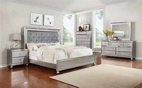 bedroom  silver tone woptions