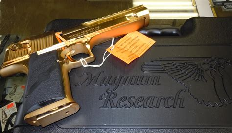 Desert Eagle Xix Cal 50ae magnum research mk xix 24k gold plated desert e for sale