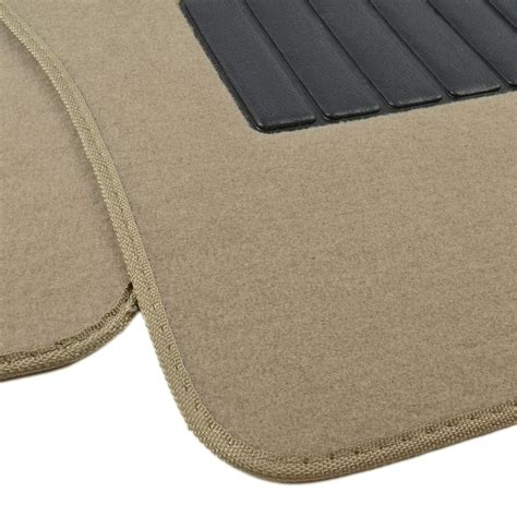 Carpet Floor Mats For Cars by Auto Floor Mats For Car Classic Carpet W Heelpad Beige