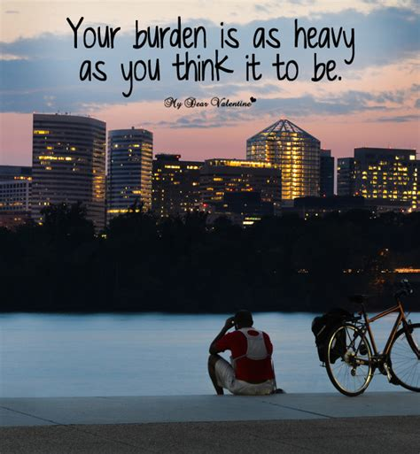 Heavy Flirting And The Season by Heavy Burden Sad Picture Quote