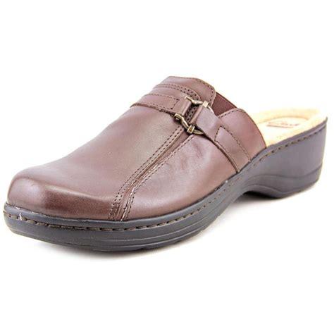 black clogs for clarks clarks hayla marina leather black clogs comfort