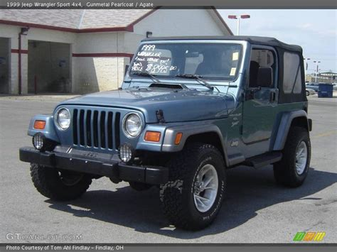 1999 jeep wrangler sport 4x4 in gunmetal pearlcoat photo no 8137012 gtcarlot