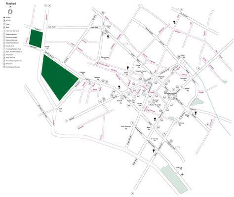 mashhad map site map