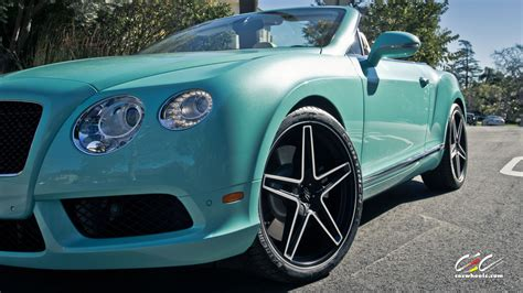 tiffany blue bentley for sale rare bentley continental gtc with custom