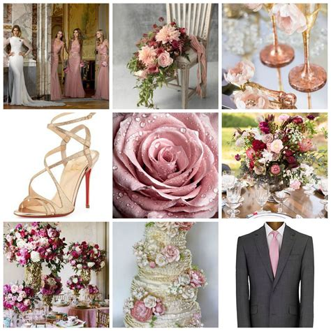 August Wedding Ideas by Wedding Color Themes For August