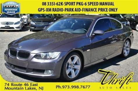 4 manual speed park bmw purchase used 08 335i 62k sport pkg 6 speed manual gps xm