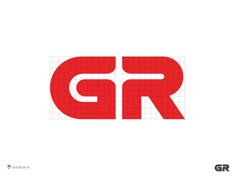 40 Creative Lettermark & Wordmark Logo Designs   Web ... G R Logo