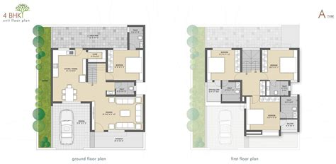 types of house plans 4 bhk home plan house design plans
