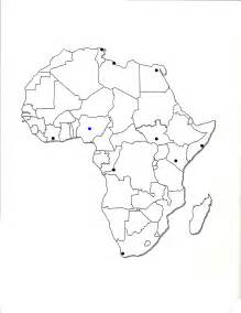 Africa Political Map Blank by Gallery For Gt Africa Map Blank 2013