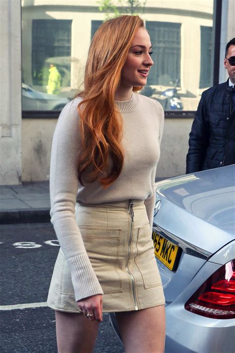 sophie turner     london leather celebrities