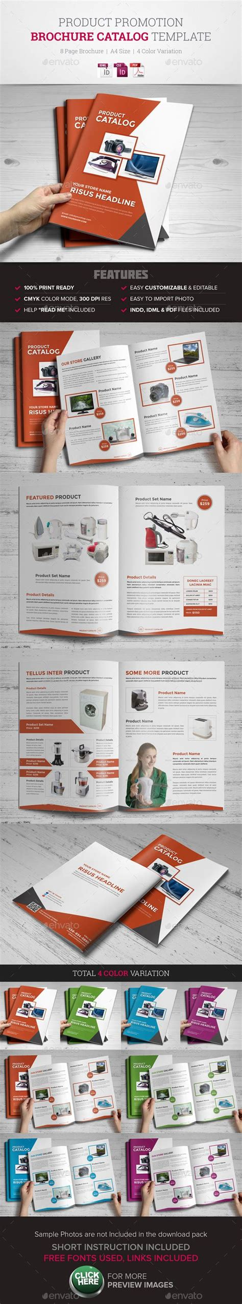 product catalog template indesign product promotion catalog indesign template products