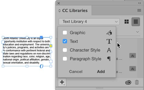 indesign font library what s new in indesign cc 2018 indesignsecrets com