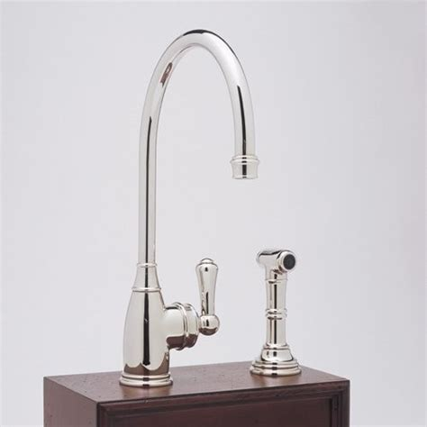 traditional kitchen faucet rohl perrin rowe lever hole kitchen mixer single handle