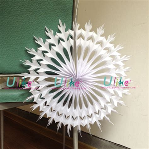 buy paper snowflake decorations 28 images pack of 12