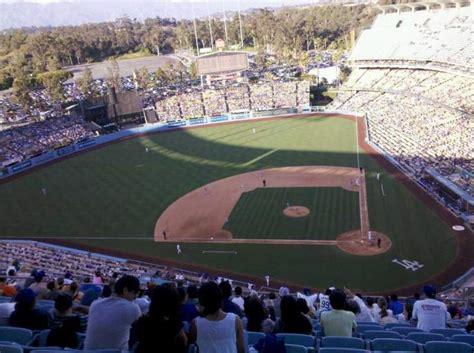 dodger stadium section td row  seat  los angeles dodgers   york mets shared  joshua