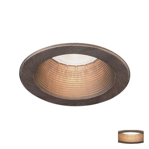 recessed ceiling light trim shop lighting 4 in bronze baffle recessed recessed