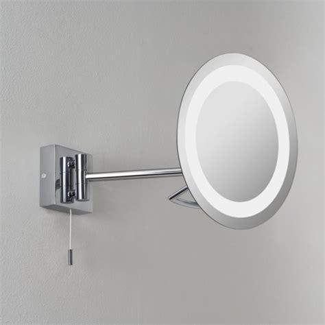 pull out bathroom mirror astro lighting 0488 gena illuminated ip44 bathroom