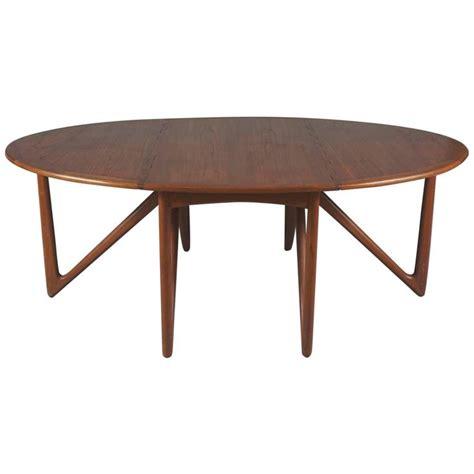 drop leaf dining room tables kurt stervig drop leaf dining table teak inside room round classic danish modern drop leaf dining table by designer kurt