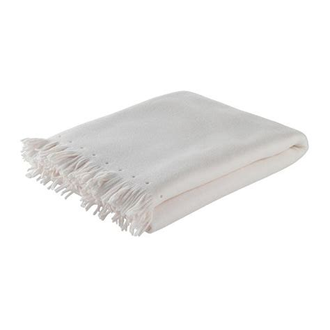 ikea blanket new ikea polarvide fleece throw blanket cover white ebay