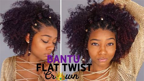 haircuts for flat crown summer bantu knot flawless flat twist crown hairstyle
