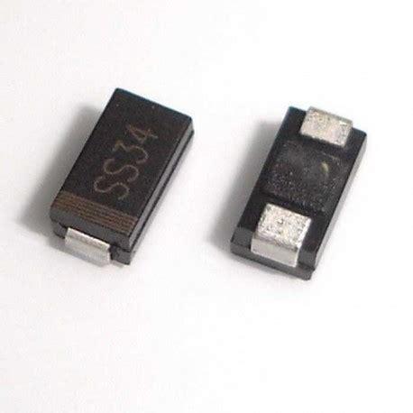 ss34 smd schottky diodes 1n5822 sma do 214ac 3a 40v