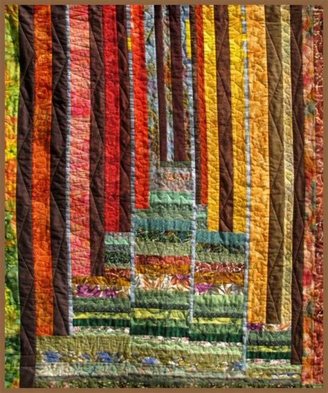 The Quilted Forest by Landscapes Cindyrquilts