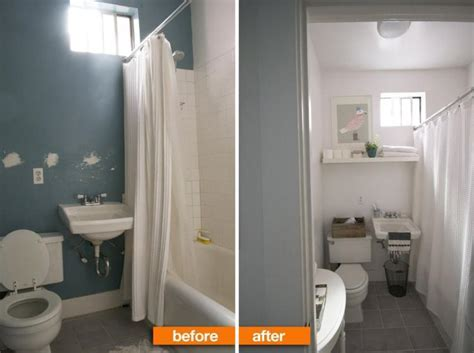 bathroom makeovers on a budget before and after