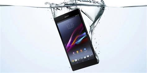 Hp Sony Xperia Z Ultra Anti Air sony rilis xperia z ultra android 6 4 inci anti air