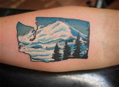 washington tattoo tattos of washington state of the state of