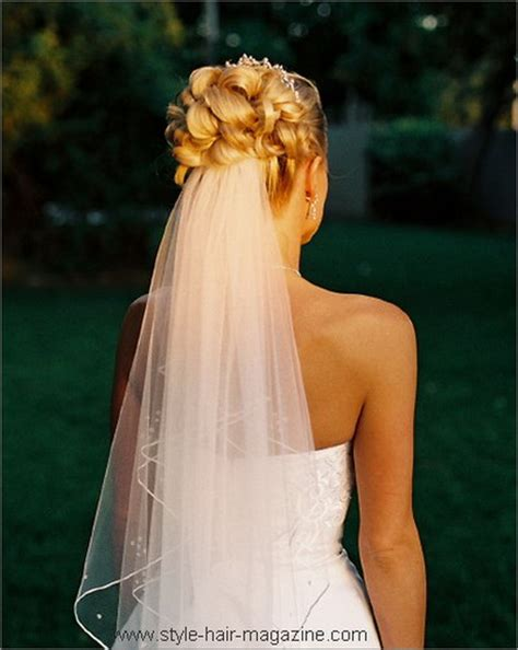 Wedding Hairstyles With The Veil by Wedding Hairstyles With Veil