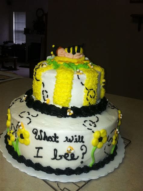 bumble bee cakes for baby shower baby shower bumble bee cake babyshower
