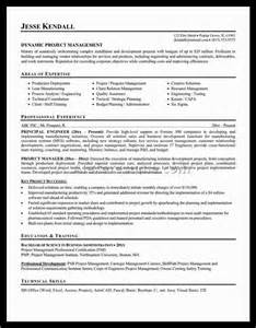 Project Manager Resume Objective Examples Project Management Sample Resume Alexa Resume