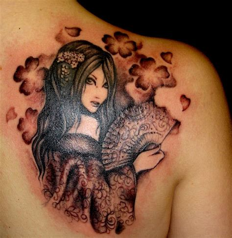 Geisha China Tattoo | for me ns for girls 8 geisha tattoo