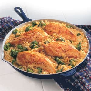 Campbell Kitchen Recipe Ideas Campbell S 174 15 Minute Chicken Amp Rice Dinner Recipe Myrecipes